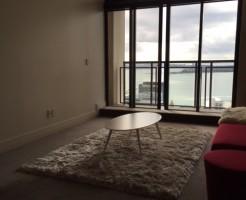 35階。眺めがよくて海も見えて、部屋にいるのが楽しい♪